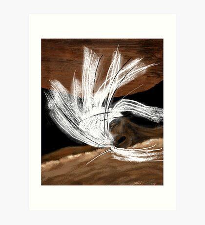 """""""The Swimmer"""" Art Print"""