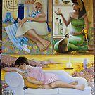 The Three Marys. Mixed Media, 2011 by fiona vermeeren