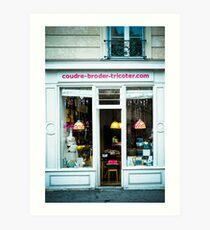 Paris - Shop Art Print