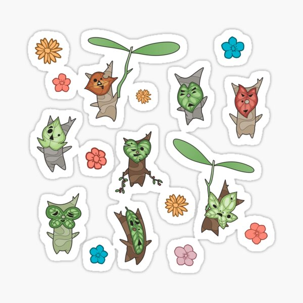 korok sticker sheet Sticker