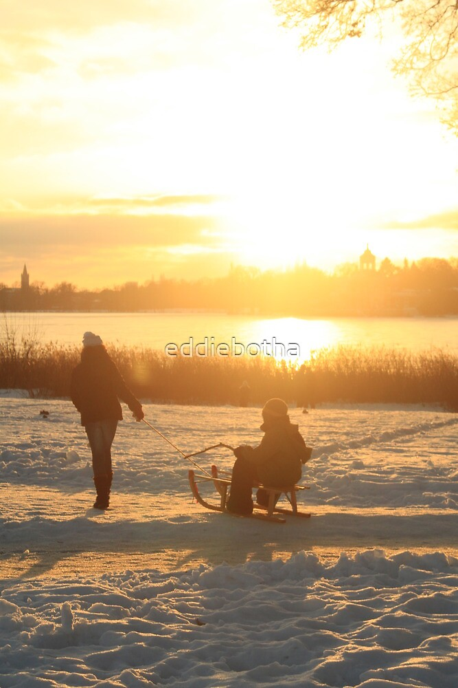 Germany sunset by eddiebotha