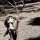 Earth Spirit Dancer 3 by Clare McClelland