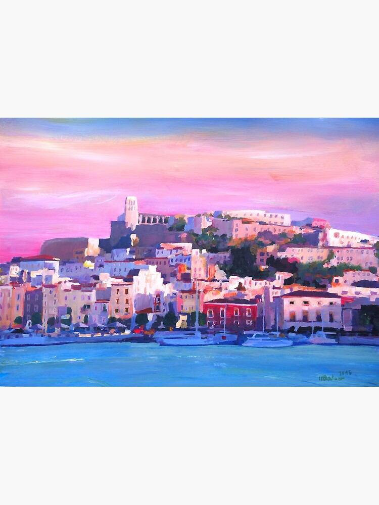 Ibiza Eivissa Old Town And Harbour Pearl Of The Mediterranean  by artshop77