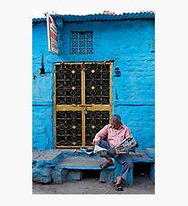 'Rajasthan Patrika', Jodhpur Photographic Print