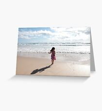 The Little Photographer Greeting Card