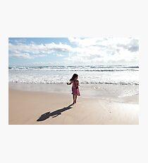 The Little Photographer Photographic Print