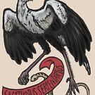 Secretary Bird by OCP-Arts
