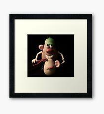 mr potato head,,,,, Framed Print