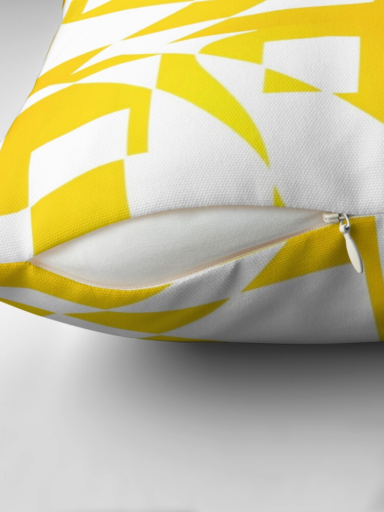 Alternate view of Window & Light, Abstract (Designed by Just Stories) Throw Pillow