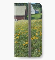 """""""Where's Mother"""" oil painting by Reed Prescott iPhone Wallet/Case/Skin"""