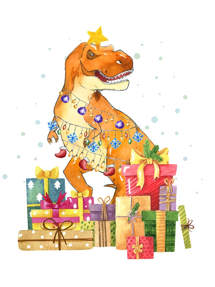 T-Rex Christmas Gift Funny Dinosaur Ugly Xmas ToddlerKids Sweatshirt
