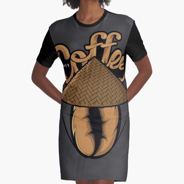 CAFETERO Vestido camiseta
