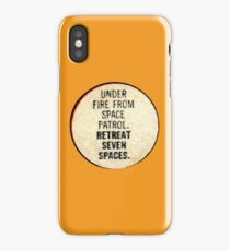 Miss-A-Go: Under Fire From Space Patrol iPhone Case/Skin