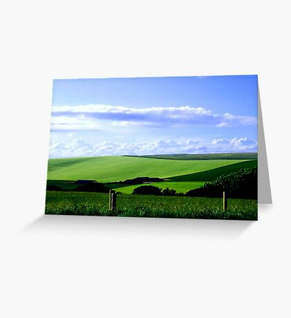 South Downs England ©  Greeting Card