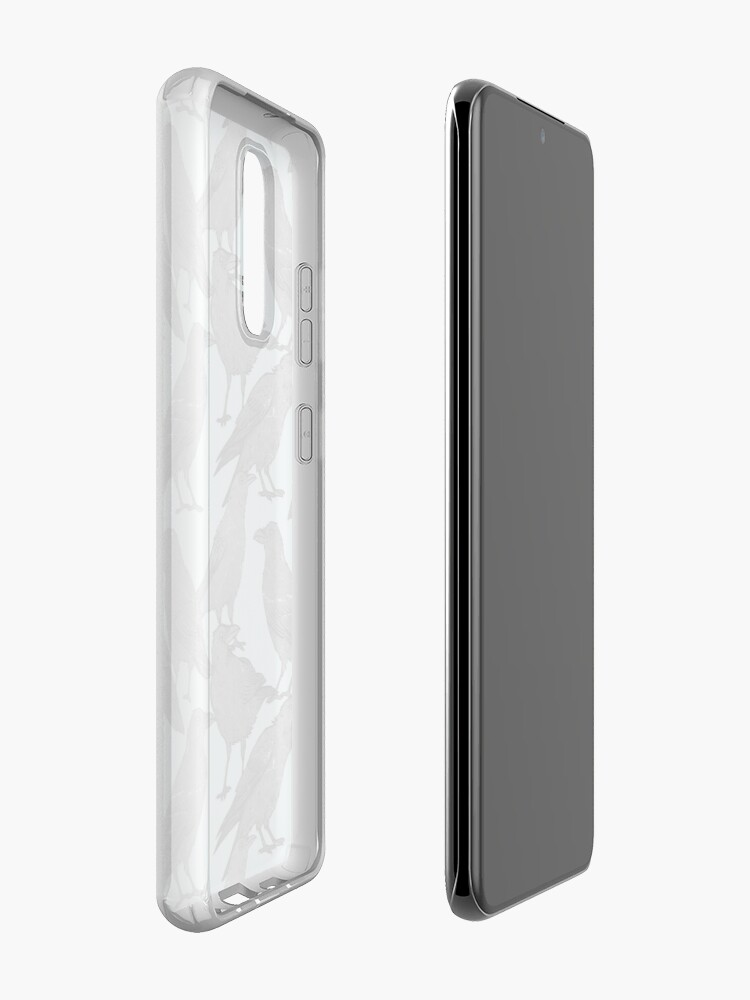Alternate view of Cute crow pattern Case & Skin for Samsung Galaxy