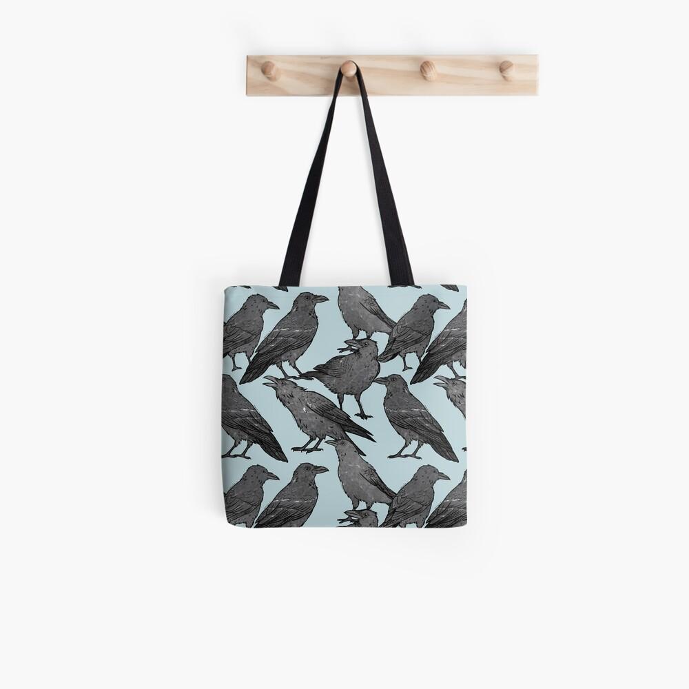 Cute crow pattern Tote Bag