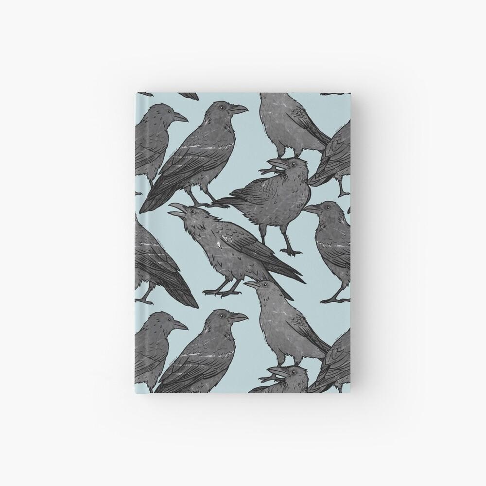 Cute crow pattern Hardcover Journal