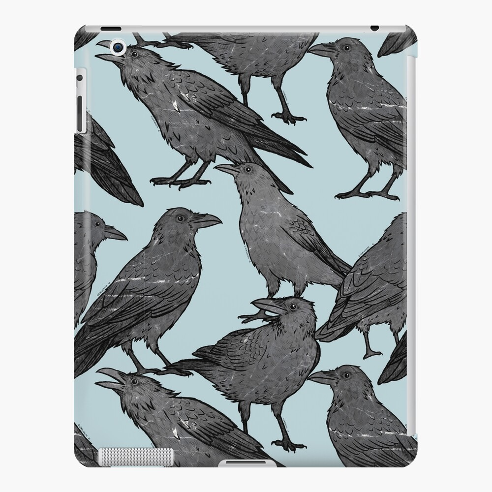 Cute crow pattern iPad Case & Skin