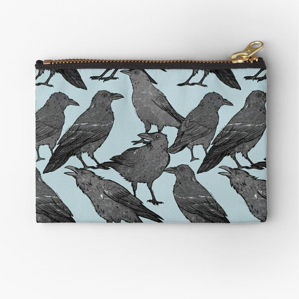 Cute crow pattern Zipper Pouch