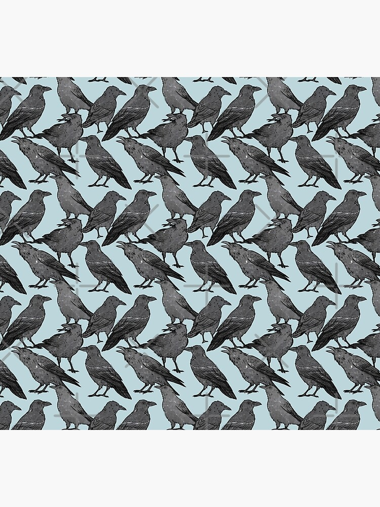 Cute crow pattern by gortworstm