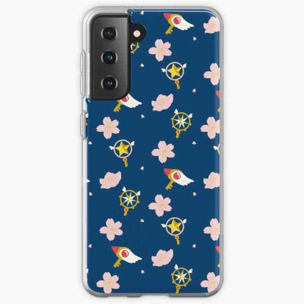 Kartenfänger Sakura - Stabmuster Samsung Galaxy Flexible Hülle