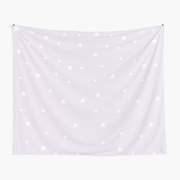 lilac stars Tapestry