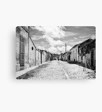 Calle luna calle sol Canvas Print