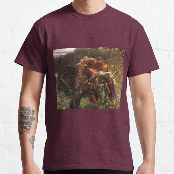 La Belle Dame sans Mercy - Sir Frank Dicksee Classic T-Shirt
