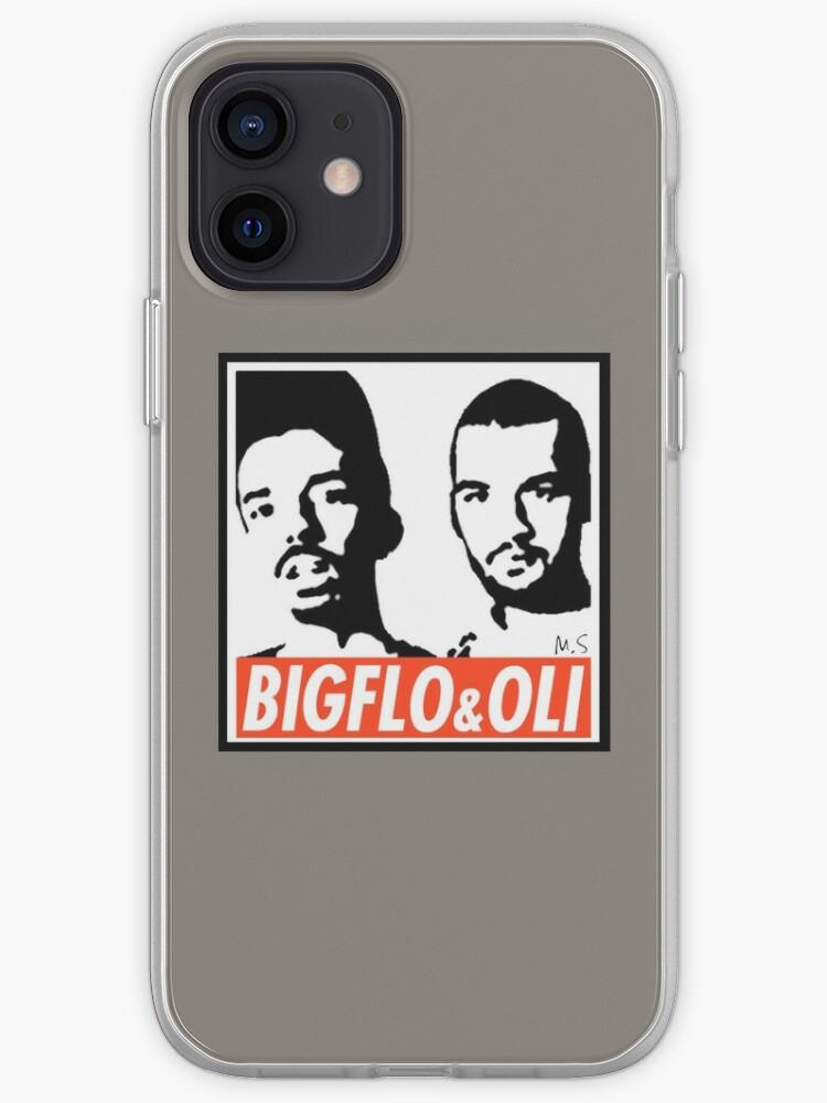 Bigflo & Oli façon Shepard Fairey, Obey | Coque iPhone