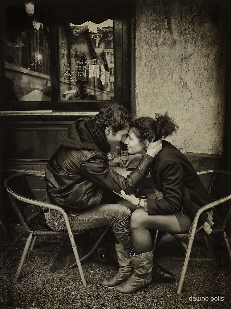 les amants dans la rue by dawne polis