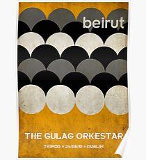 Beirut World Tour Poster Poster