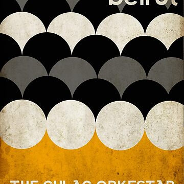 Beirut World Tour Poster by paulrice