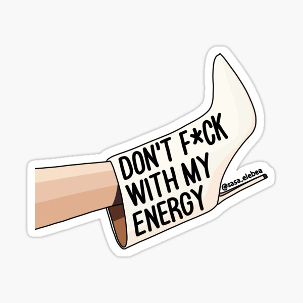 Energy by Sasa Elebea Sticker