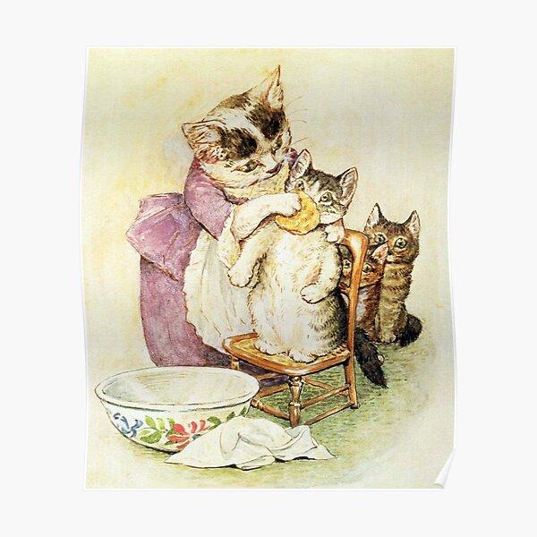 Le conte de Tom Kitten - Beatrix Potter Poster