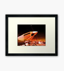 Achtung Spitfire! Framed Print