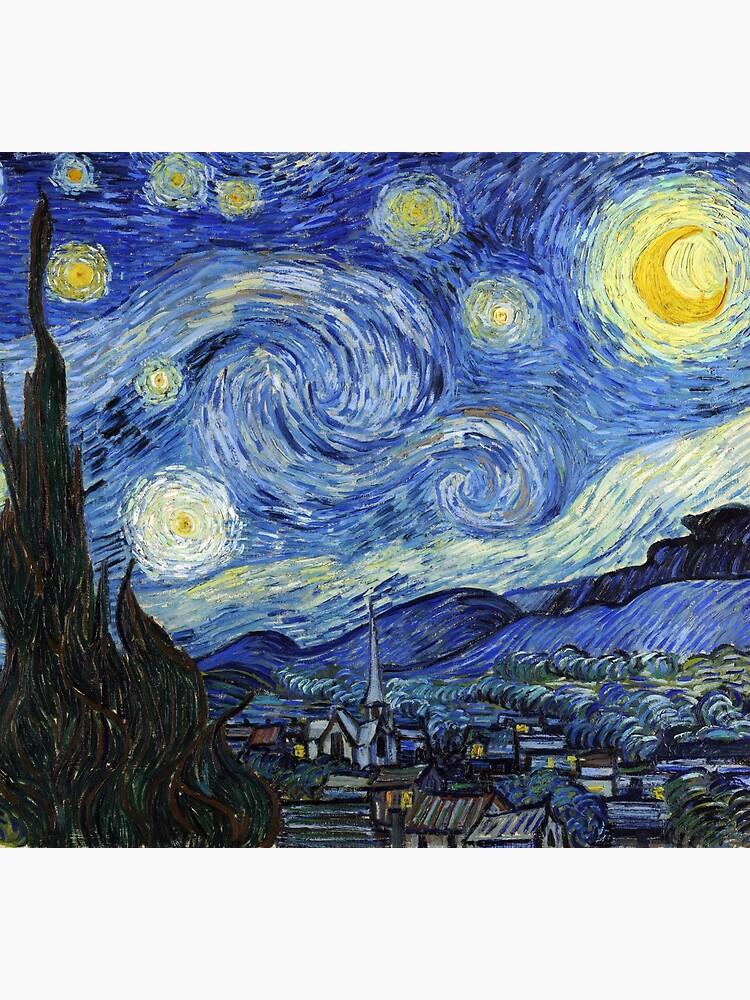 Starry Night, Van Gogh by fourretout
