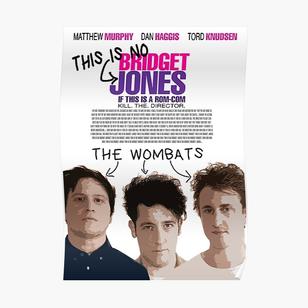Wombats ➤ Kill The Director Poster