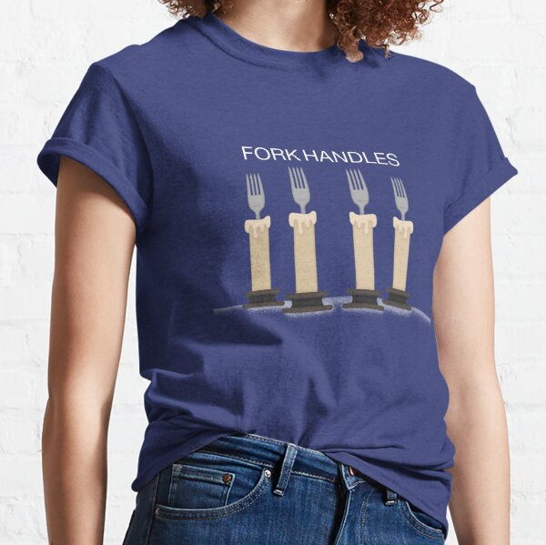 Four Candles Mens T Shirt The Two Ronnies Funny Corbett TV Crew Neck Top T-Shirt