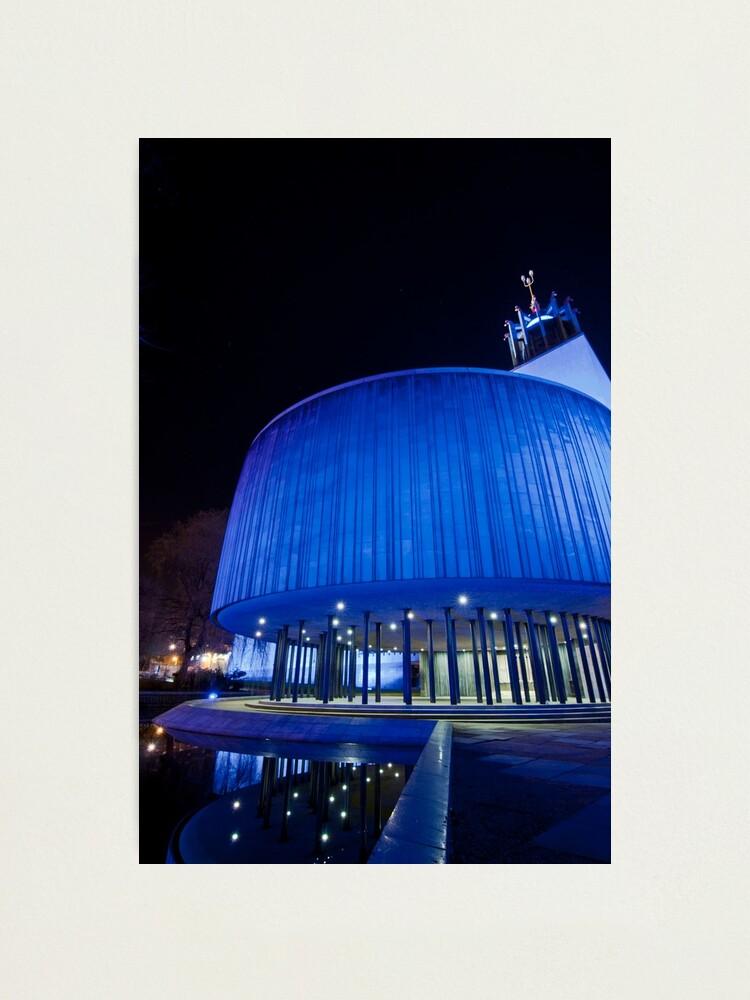 Alternate view of Newcastle Civic Centre Photographic Print