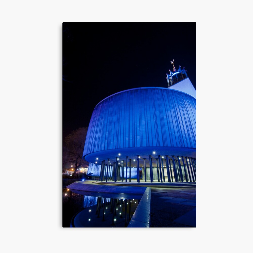 Newcastle Civic Centre Canvas Print