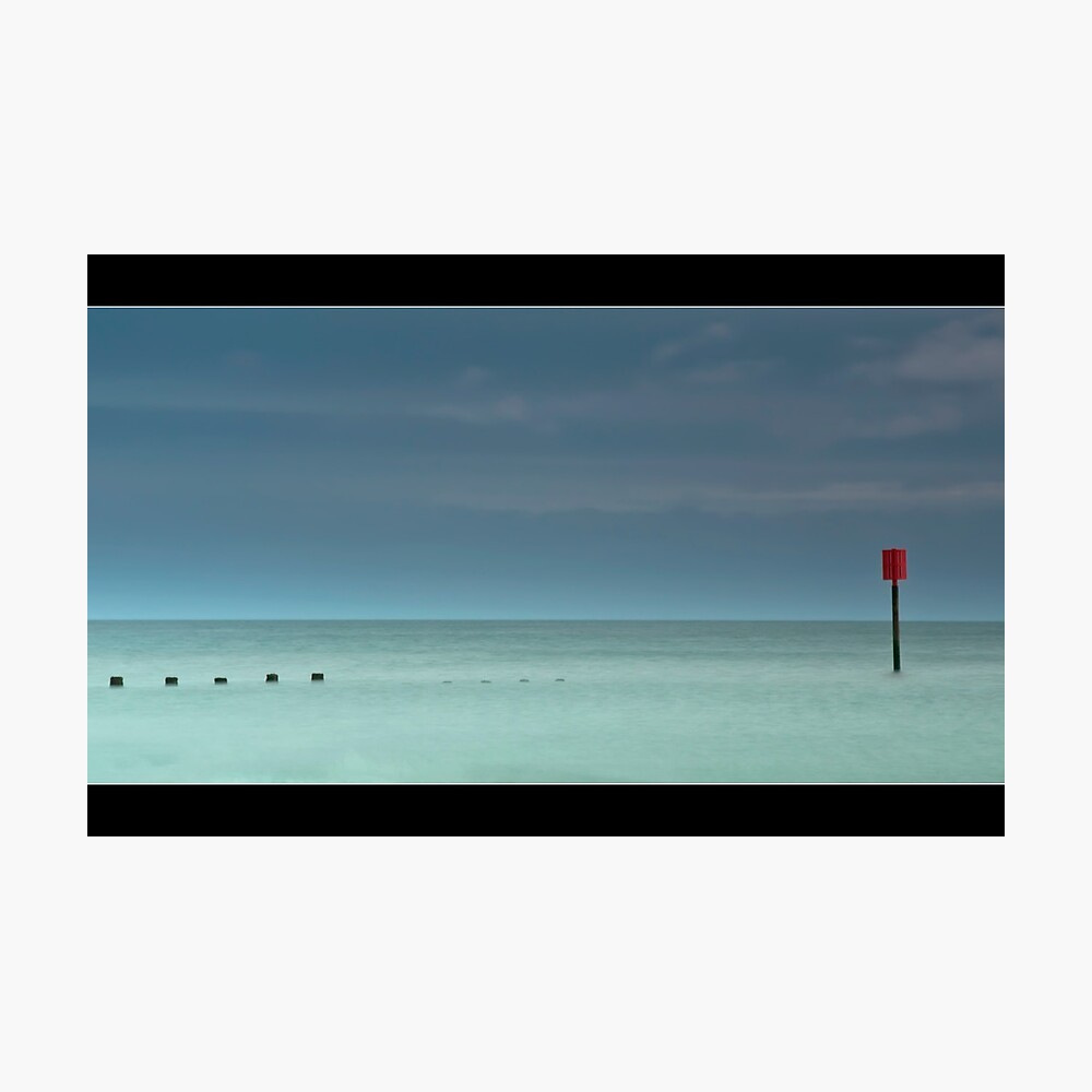 Groyne Photographic Print