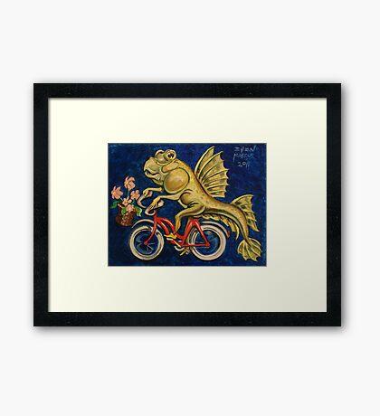 mudskipper Framed Print