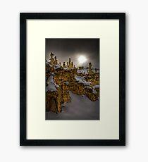 Fantasy Canyon HDR 2 Framed Print