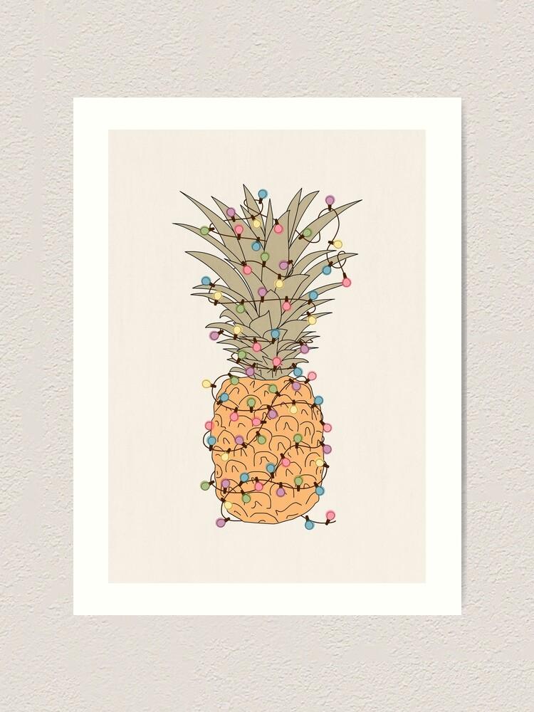 Alternate view of Tropical Lights Art Print