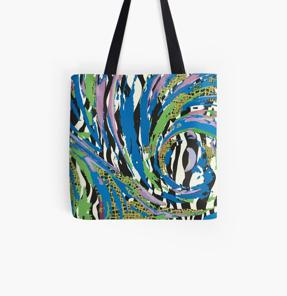 Muster - Pattern Energyball Allover-Print Tote Bag