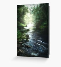 The River That Started it All Greeting Card