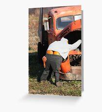 Mr. Pumpkin Butt Greeting Card
