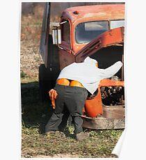 Mr. Pumpkin Butt Poster