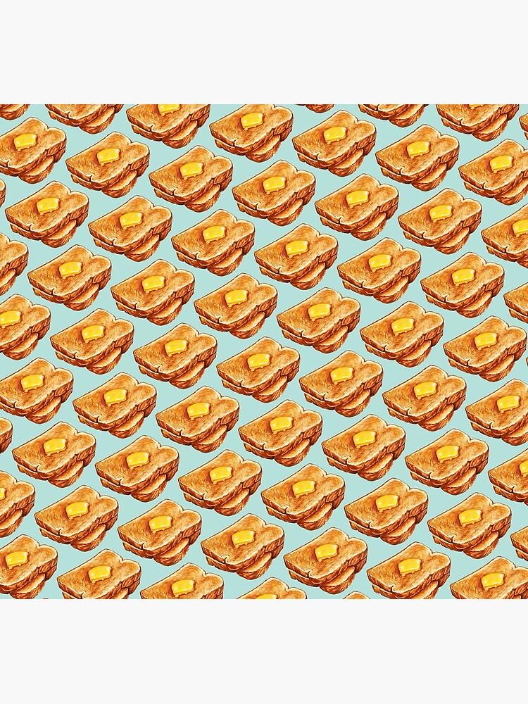 Buttered Toast Pattern by KellyGilleran