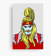 Omega Red  Canvas Print